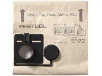 Filtrační vaky Festool FIS-CT 33/5 pro Festool CT 33, 5ks