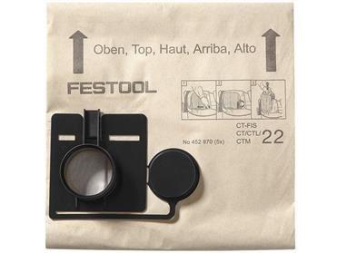 Filtrační vaky Festool FIS-CT 55/5 pro Festool CT 55, 5ks (452973)