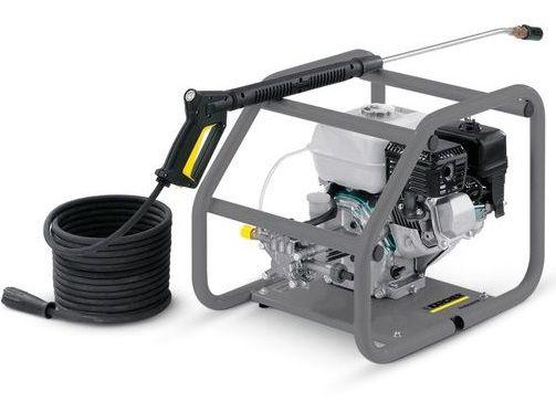 Profi benzínový vysokotlaký čistič Kärcher HD 728 B Cage - 3600W, 150bar, 35.5kg (1.187-120.0)