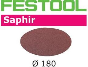 Brusné kotouče StickFix pro brusku Festool RAS 180 - Saphir Festool STF D180/0 P24 SA/25 - 180mm, zrnitost P24, 25ks (485239)