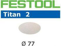 Brusné kotouče StickFix Titan 2 Festool STF D77/0 P3000 TI2/50 - 77mm, zrnitost P3000, 50ks