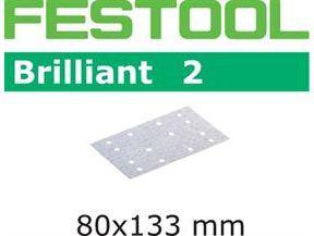 Brusné papíry pro brusky Festool RTS 400, RS 400, RS 4, LS 130, HSK-A 80 x 130, HSK 80 x 133 - Brilliant 2 Festool STF 80x133 P80 BR2/50 - zrnitost P80, 50ks (492850)