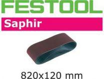 Zobrazit detail - Brusný pás Festool 820x120-P120-SA/10 - zrnitost P120, 10ks, pro Festool CMB 120