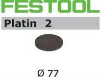 Brusné kotouče StickFix Platin 2 Festool STF D77/0 S1000 PL2/15 - 77mm, zrnitost S1000, 15ks
