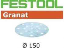 Brusné kotouče StickFix Granat Festool STF D150/16 GR S P320/20 - 150mm, zrnitost P320, 20ks