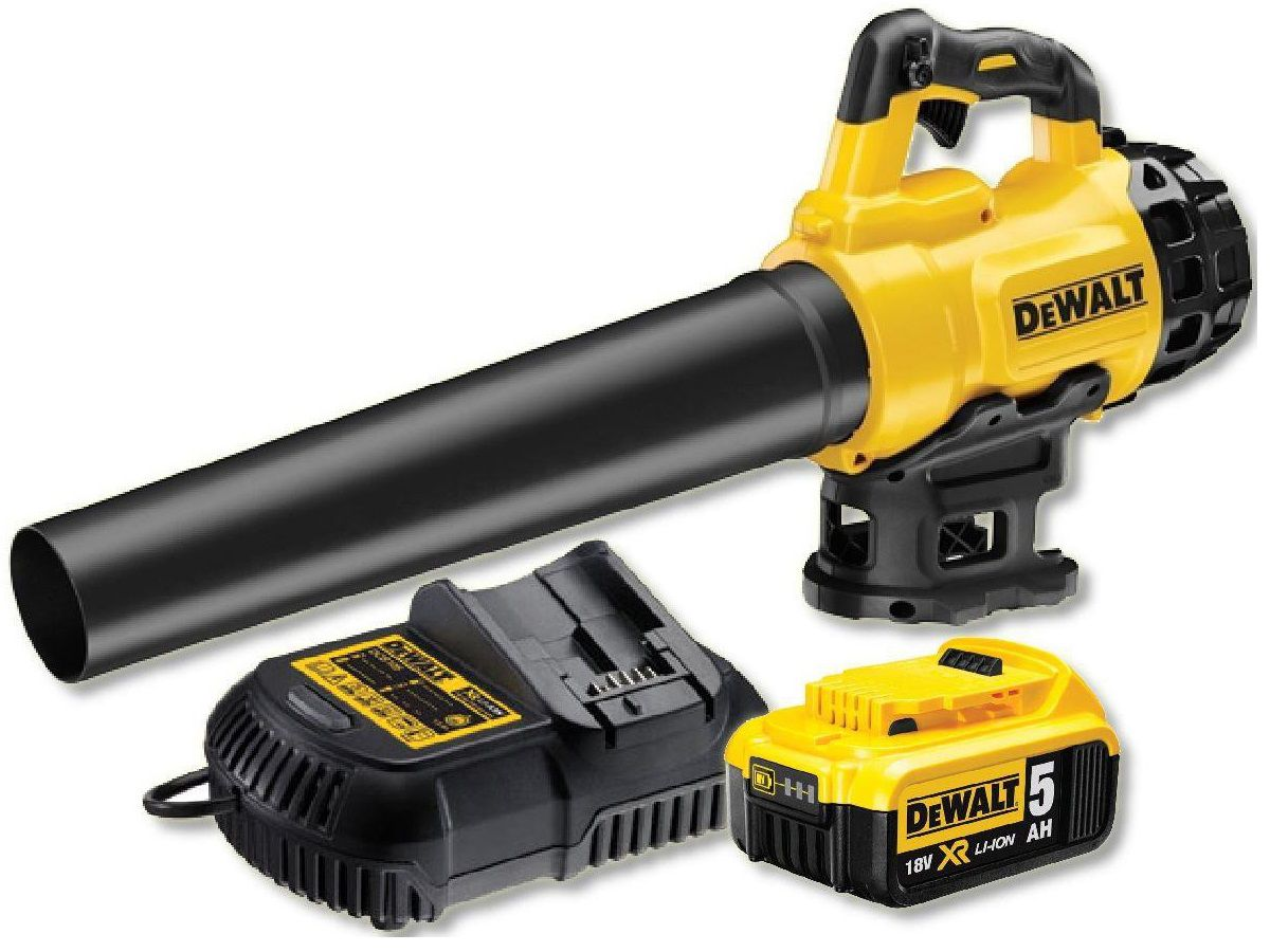 Aku fukar na listí DeWALT DCM562P1 - 2x 18V/5.0Ah, 144 km/h, 3.2kg (DCM562P1)