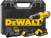 DeWALT DCD776C2 - 2x 18V/1.3Ah XR Li-Ion, 42Nm, 2 rychl., 1.72kg, kufr, aku vrtačka s příklepem