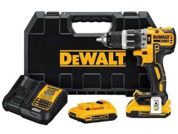 Aku vrtačka s příklepem DeWALT DCD796D2 - 2x aku 18V/2.0Ah XR Li-Ion, 1.6kg v kufru (DCD796D2-QW)
