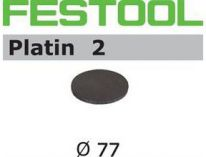 Brusné kotouče StickFix Platin 2 Festool STF D77/0 S400 PL2/15 - 77mm, zrnitost S400, 15ks