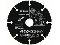 Řezný kotouč z tvrdokovu Bosch Carbide Multi Wheel na DŘEVO, PLASTY a HŘEBÍKY do úhlové brusky 115mm