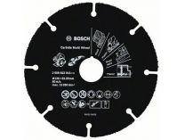 Řezný kotouč z tvrdokovu Bosch Carbide Multi Wheel na DŘEVO, PLASTY a HŘEBÍKY do úhlové brusky 125mm
