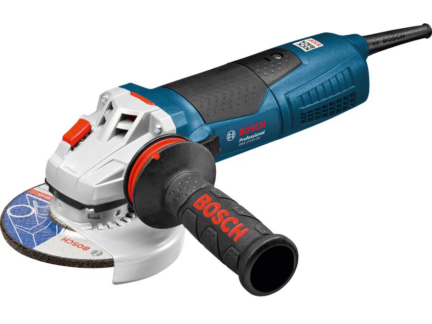 Úhlová bruska Bosch GWS 17-125 CIEX Professional - 125mm, 1700W, regulace, 2.5kg (060179H106) Bosch PROFI