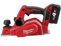Milwaukee M18 BP-402C - 2x 18V/4.0 Ah Li-ion, 82mm, 2.7kg, kufr, aku hoblík