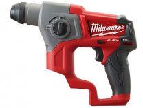 Kombi aku kladivo Milwaukee M12 CH-0 - 12V, SDS-Plus, 1.9kg, bez aku a nabíječky