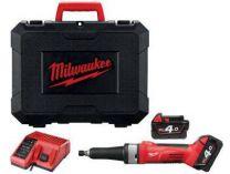 Aku přímá bruska Milwaukee HD18 SG-401C - 1x 18V/4.0Ah, 3.0kg, kufr