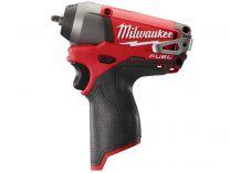 Milwaukee M12 CIW14-0 - 12V, 56Nm, bez aku, aku rázový utahovák s přesným kroutícím momentem