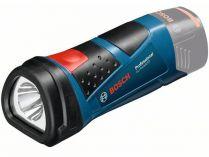 Bosch GLI 10,8 V-LI Professional - 1W, 0.3kg, aku svítilna bez aku