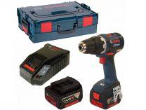 Bosch GSR 14,4 V-EC Professional - 2x 14.4V/4.0Ah, 56Nm, 1.6kg, aku vrtačka bez příklepu