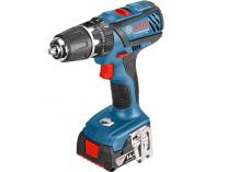 Zobrazit detail - Bosch GSB 14,4-2-LI Plus Professional - 2x 14.4V/4.0Ah, 59Nm, 1.5kg, kufr, aku vrtačka s příklepem