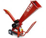 Kompostovač - zahradní drtič větví GTM GTS 600 E s elektrickým motorem
