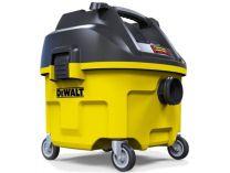 DeWalt DWV901L - 1400W, 9.5kg, třída L, průmyslový vysavač s oklepem, 30L