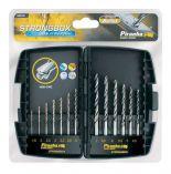 13-dílná sada Piranha HI-TECH Bullet do kovu, dřeva a plastu (HSS-CNC) 1,5-7,0mm