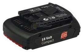 Zásuvný akumulátor Bosch 18 V / 1,3 Ah Li-ion Professional original Bosch příslušenství