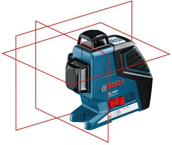 Bosch GLL 3-80P Professional Křížový laser