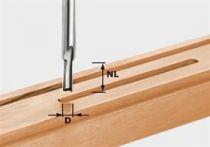 Drážkovací fréza Festool HW S8 D7/17 - 8 mm, tvrdokov