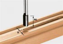 Drážkovací fréza Festool HW S8 D19/20 - 8 mm, tvrdokov
