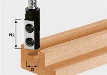 Drážkovací žiletková fréza Festool HW S8 D10/25 WP Z1 - 8 mm