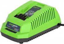 Nabíječka Greenworks G40C pro baterie 40V zn. Greenworks