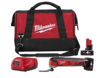 Zobrazit detail - Aku multifunkční nářadí Milwaukee C12 MT-402B - 2x 12V/4.0Ah, 1.2kg, taška