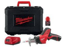 Aku pila ocaska Milwaukee C12 HZ-202C - 2x 12V/2.0Ah, 13mm, 1.2kg, kufr