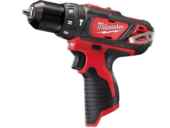 Aku vrtačka s příklepem Milwaukee M12 BPD-0 - 12V, 2rychl., bez akumulátoru a nabíječky (4933441950)
