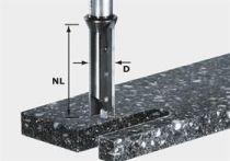 Drážkovací fréza pro frézku Festool OF 2000 s výměnnými břity HW Festool HW S12 D14/45 WM - 12 mm