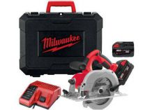 Milwaukee HD28 CS-502C - 2x 28V/5.0Ah, 165mm, 3.6kg aku kotoučová pila