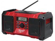 Milwaukee M18 JSR-0 - 18V, aku stavební rádio bez aku