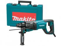 Vrtací a sekací kladivo Makita HR2641 - SDS-Plus, SDS-Plus, 800W, 2.4J, 3.1kg, AVT, v kufru