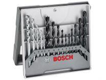 Zobrazit detail - 15-dílná sada vrtáků do ZDIVA, DŘEVA A ŽELEZA  Bosch X-Pro 3-8mm
