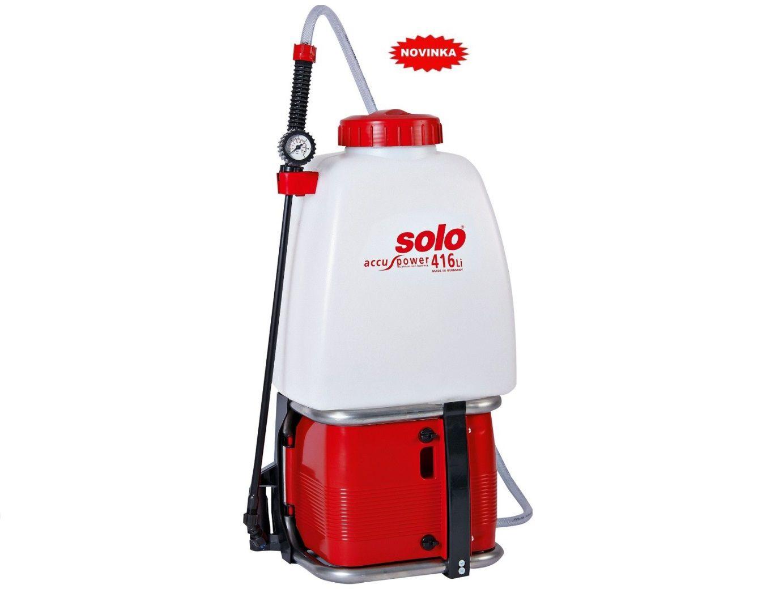 Aku postřikovač SOLO 416Li PRO - 20L, 12V/7.8Ah Li-Ion (40001161)