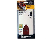 Brusný papír Piranha Black-Decker X31442 - zrnitost 80, 5ks (pro KA280, KA280K ad..)