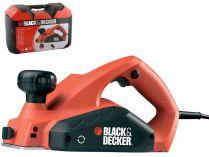 Elektrický hoblík Black-Decker KW712KA - 650W, 82mm, kufr