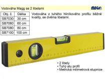 Vodováha Magg SB7060 - 60cm, 2 libely, 0.4kg