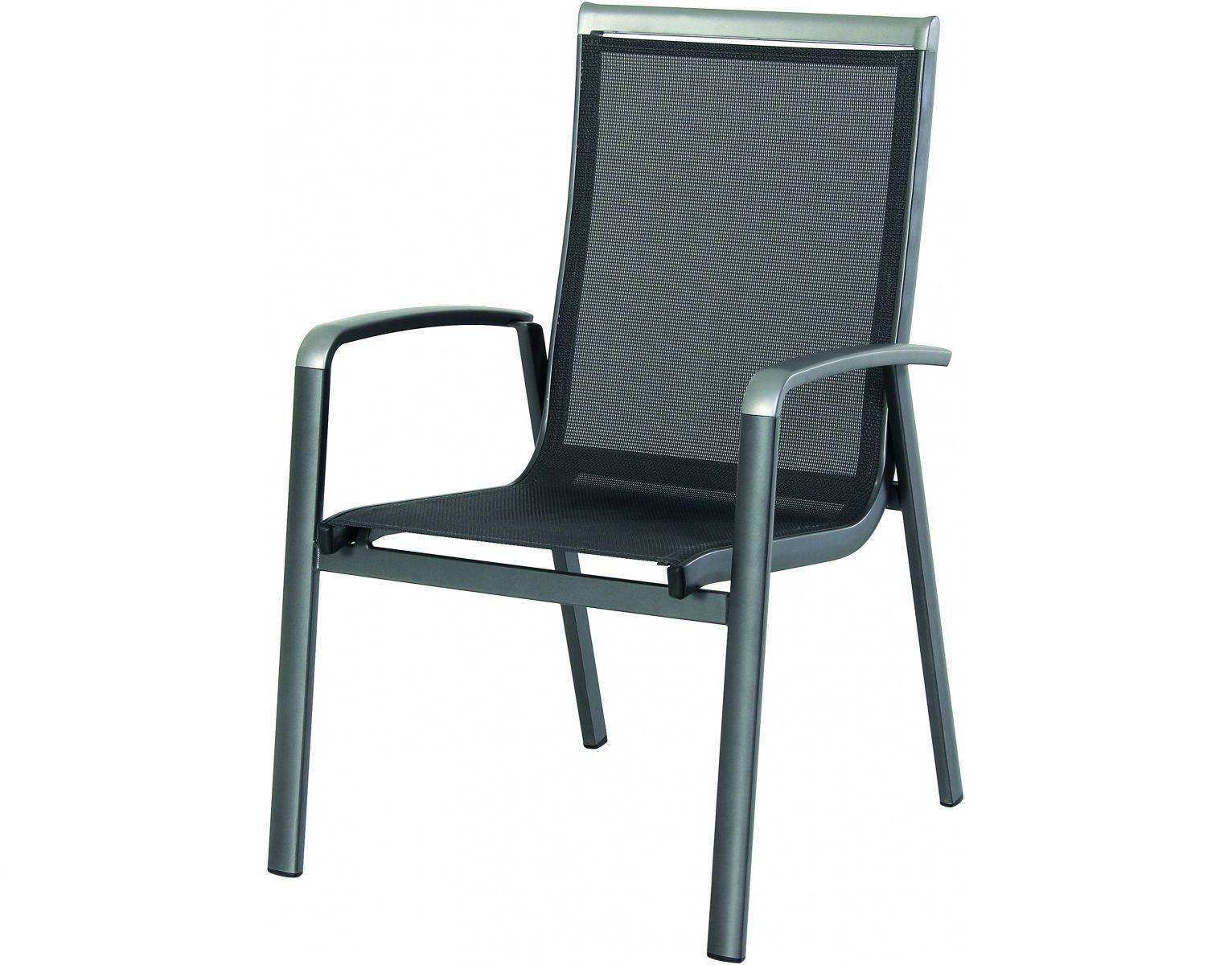 Stohovatelná hliníková židle Garland - Forios, kód: 879119