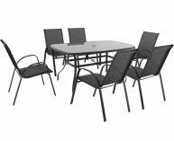 Garland zahradní sestava (6x židle + 1x stůl) - Verona 6+