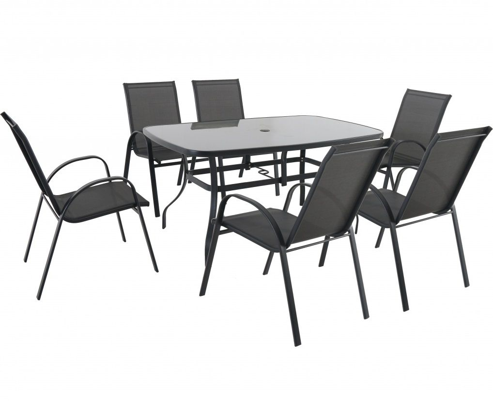 Zahradní sestava (6x židle + 1x stůl) Garland - Verona6+