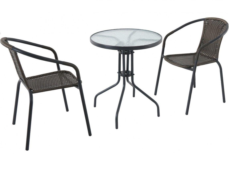 Zahradní set (1x kruhový stůl, 2x židle) Garland - Pikolo set, kód: Pikolo_set