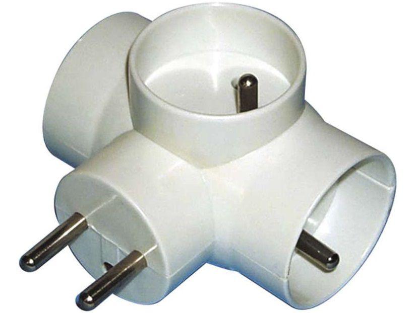 Adapter - rozdvojka EMOS E2010, P0024, 3x zásuvka