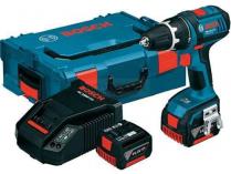 Bosch GSR 14,4 VE-EC Professional - 2x 14.4V/4.0Ah, 70Nm, kufr, bezuhl. aku vrtačka bez příklepu